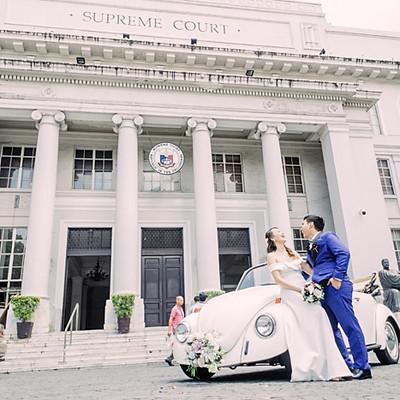 Reni & Kristel Civil Wedding