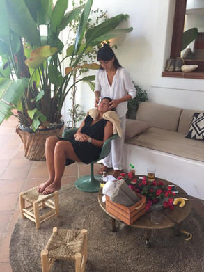 Mama pampering time