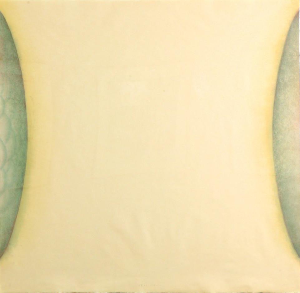 2010   100×100cm  和紙に水性木版