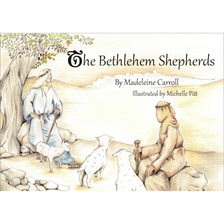 The Bethlehem Shepherds (Colouring book)