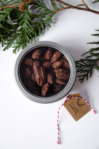DIY Candied Nuts Stocking Stuffer