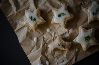 it's lemon shortbread cookie thyme