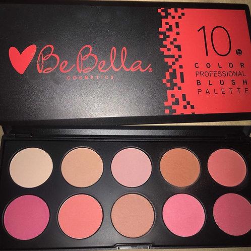 BeBella Cosmetics - 10 Professional Blush Palette