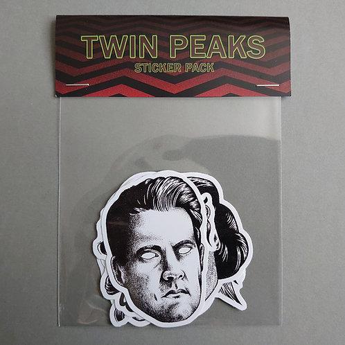 Twin Peaks vinyl sticker pack 01