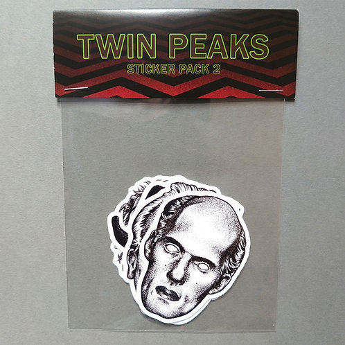 Twin Peaks vinyl sticker pack 02