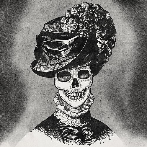 Hat Lady Skull 01 medium print