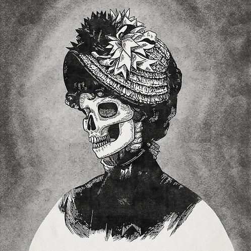 Hat Lady Skull 02 medium print
