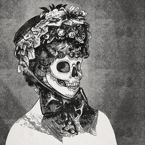 Hat Lady Skull 04 small print
