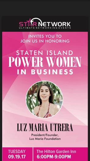 Nuestra Fundadora Luz Maria es una de las homenajeadas