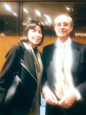 Con David Kaye, Relator Especial sobre la libertad de opinión y expresión; Marie-Thérèse Keita-Bocou