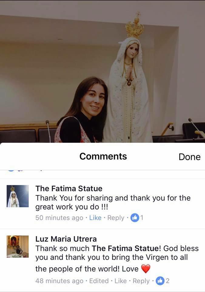 Virgen of Fatima
