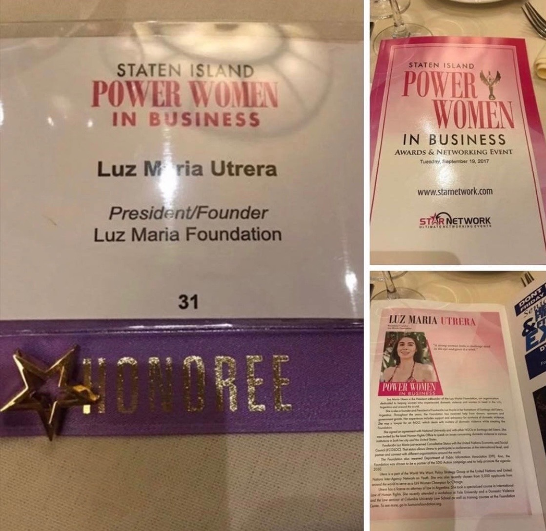 Power Women in Bussines Honoree