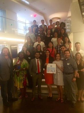 #Global #Goals #Design #Lab UNA-USA Encuentro de Lideres en Washington D.C.