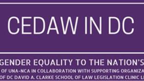 Apoyamos  #Cedaw in #DC