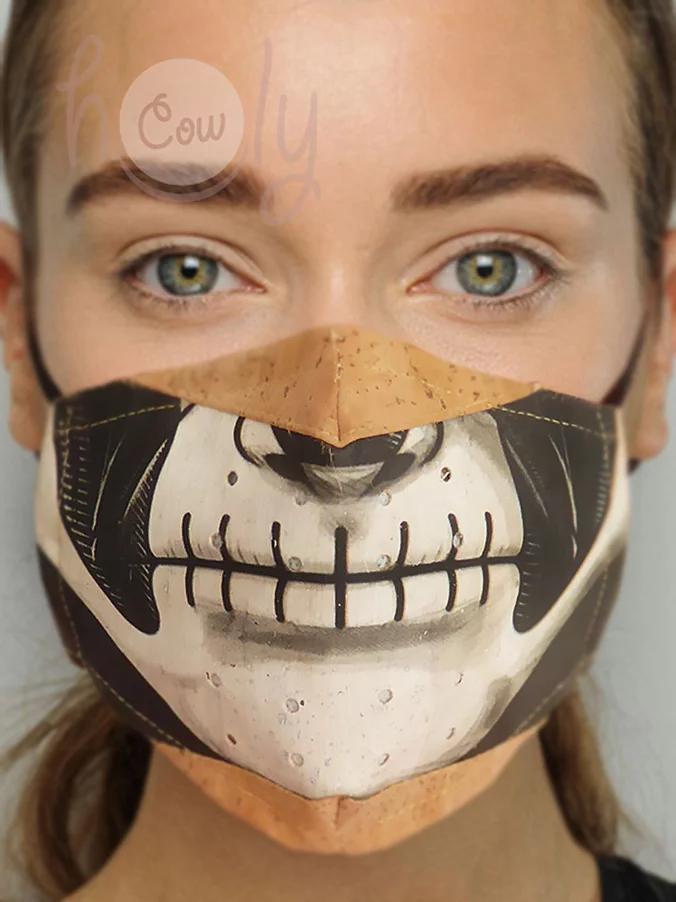 Handmade Eco Friendly Cork Face Mask
