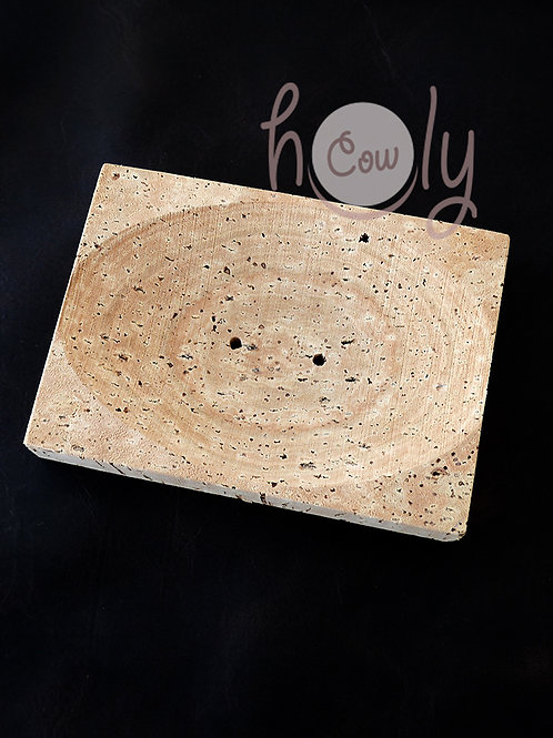 Natural Eco Friendly Cork Soap Dish