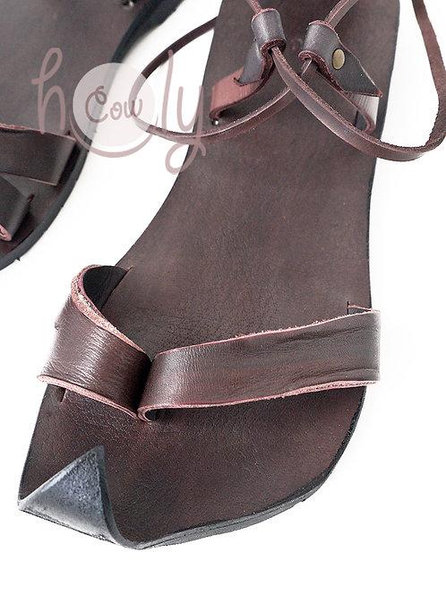 Unique Handmade Brown Leather Sandals