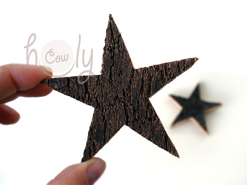 Cork Christmas Star Magnet