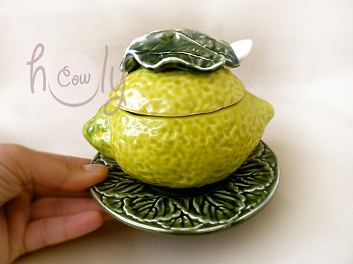 Handmade Ceramic Lemon Bowl