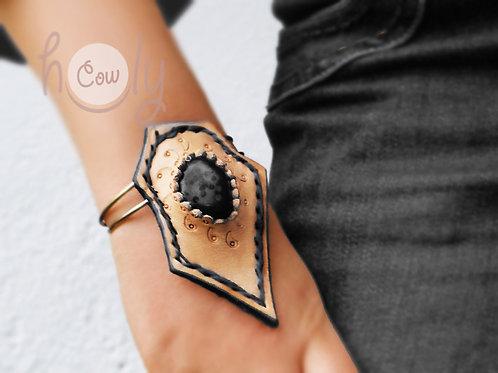 Bracelet With Black Gemstone