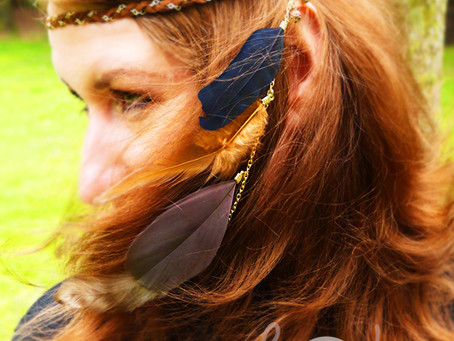 Unleash Your Bohemian Soul This Summer With Our Beautiful Feather Headband