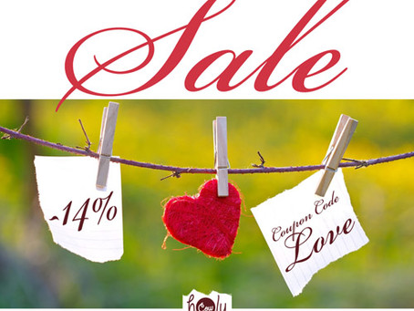 Special Valentine's SALE Now On!