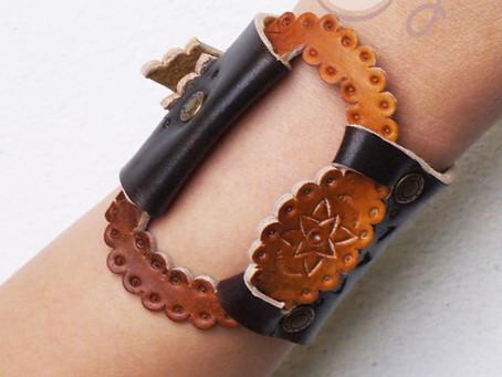 Beautiful Brown Leather Bohemian Bracelet