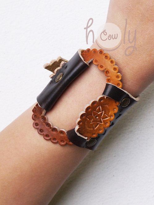 Brown Leather Bohemian Bracelet