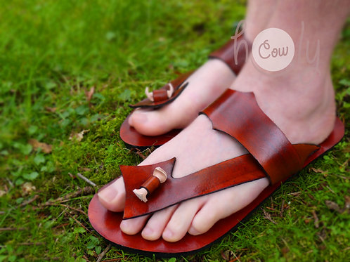 Handmade Funky Leather Sandals