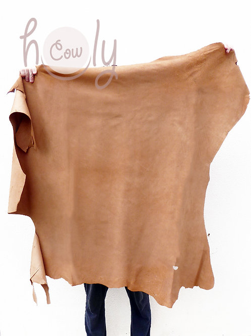 Large Brown Pigskin Leather Hides
