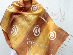 Raw Silk Scarves