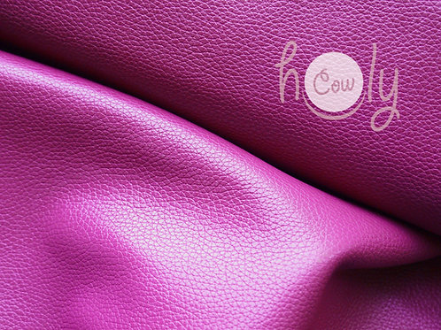 "Dark Pink Cow Leather 12""x12"""