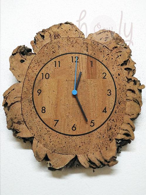 Natural Eco Friendly Cork Wall Clock