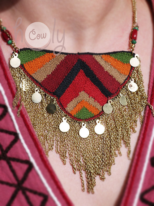Womens Tribal Necklace
