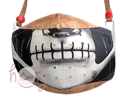 New Eco Friendly Reusable Cork Face Mask With 10 Filters And A Comfortable Cork NECK STRAP