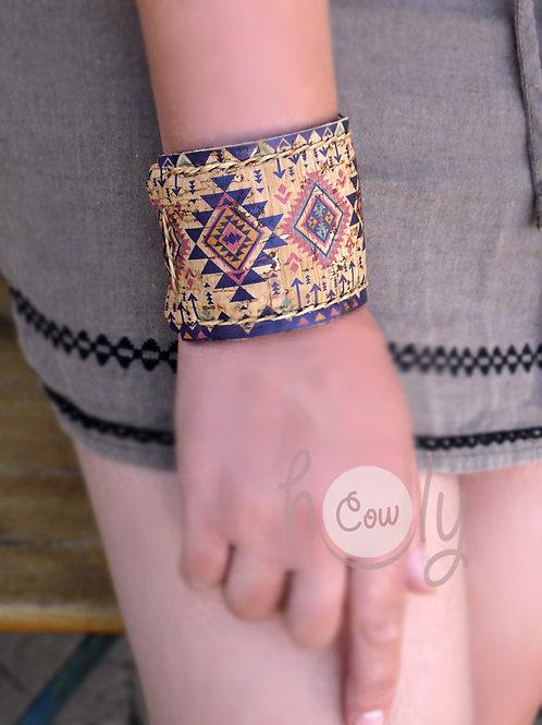Handmade Eco Friendly Tribal Cork Bracelet