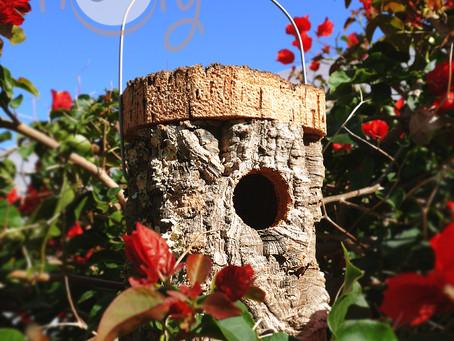 Eco Friendly Cork Birdhouse