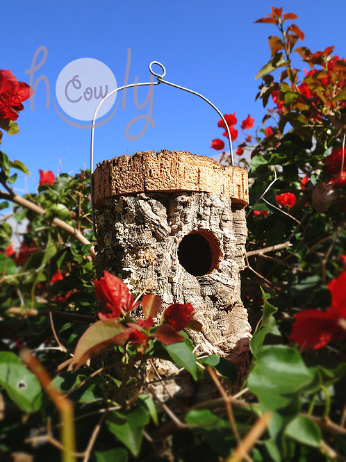 Handmade Eco Friendly Cork Birdhouse