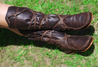 Handmade Adult Moccasins And Boots