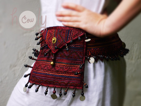 Unique And Beautiful Tribal Belt Bag
