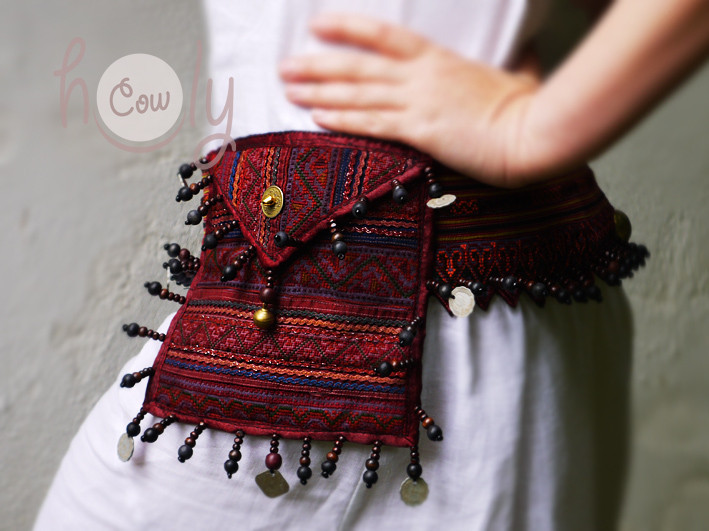 Unique And Beautiful Tribal Belt Bag