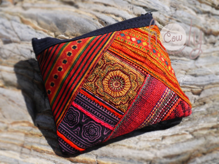 Colorful Tribal Vintage Hmong Wallet