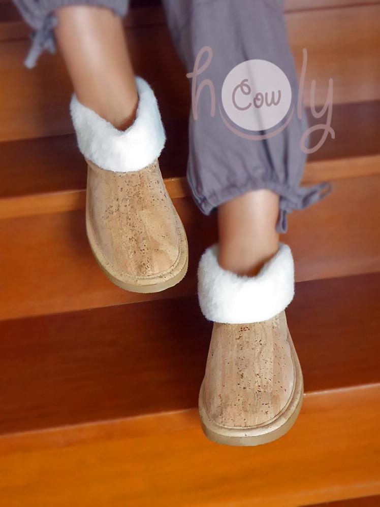 Handmade Eco Friendly Cork Slippers