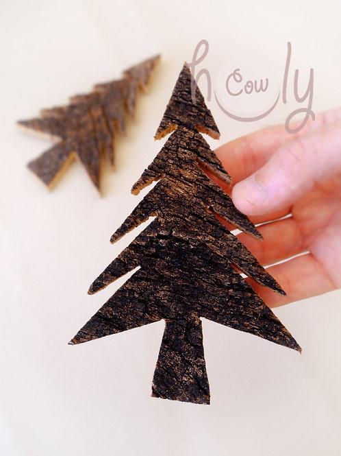 Cork Christmas Tree Magnet