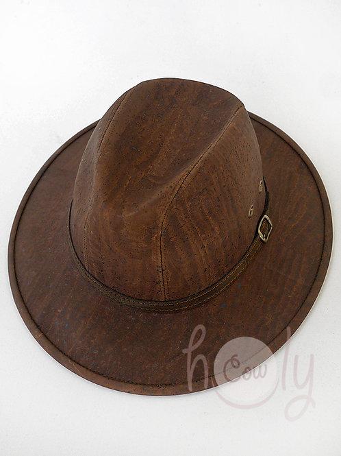 Dark Brown Eco Friendly Cork Hat
