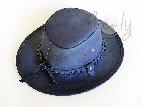 Blue Eco Friendly Cork Hat