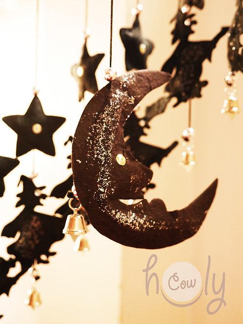 Halloween Moon Decoration