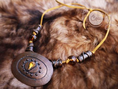 New Boho Medieval Necklace