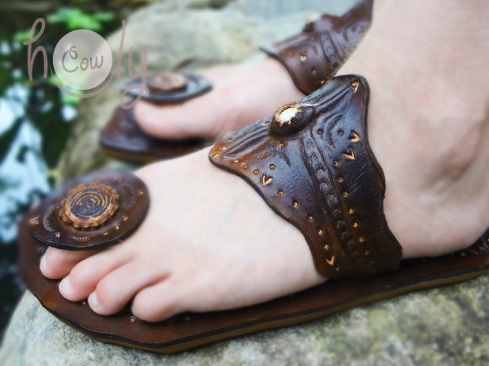 Crazy Indian Sandals