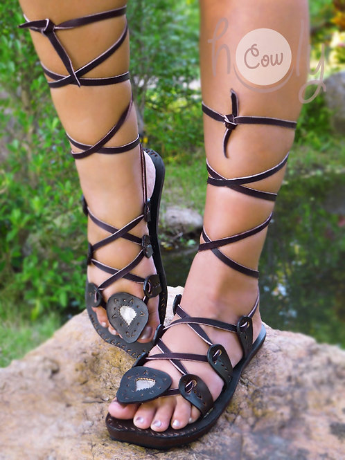 Crazy Sexy Leather Sandals